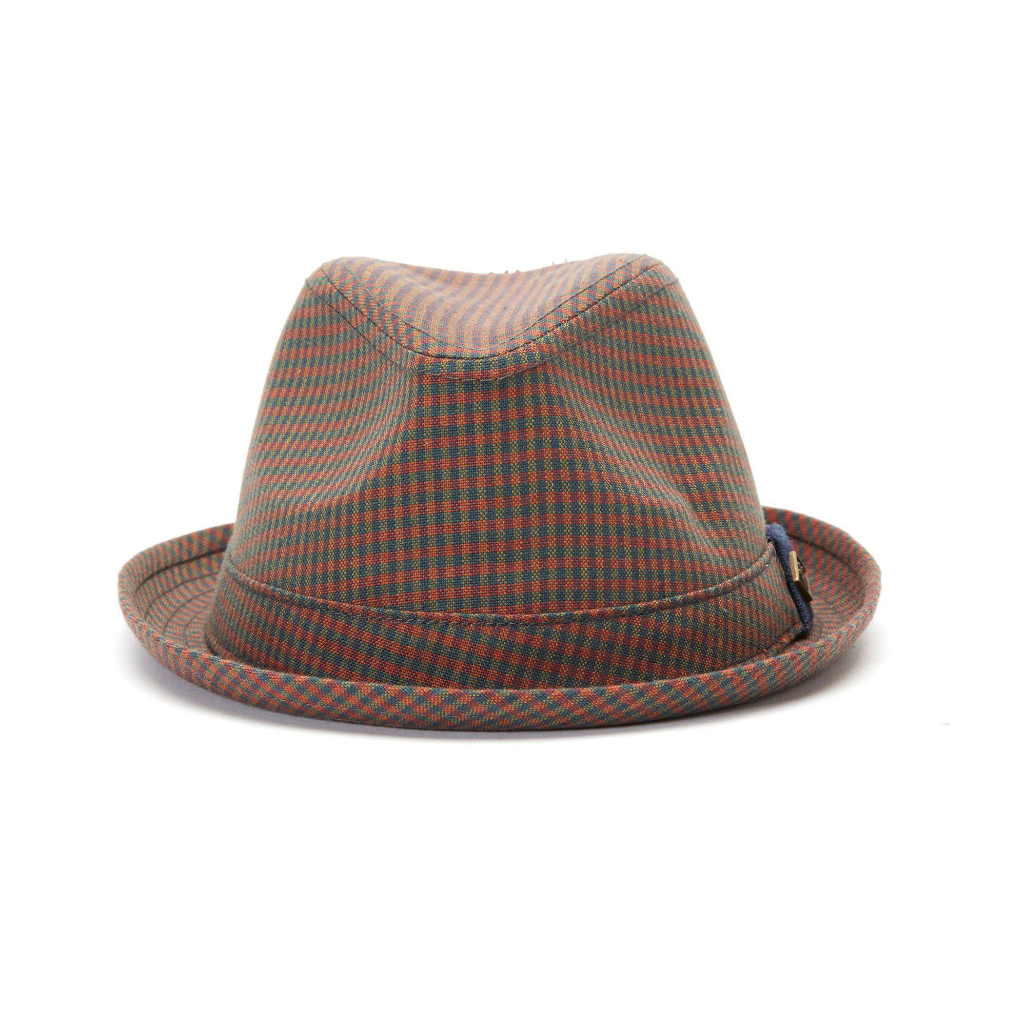 Goorin Baller Fedora Hat in Red, size Medium