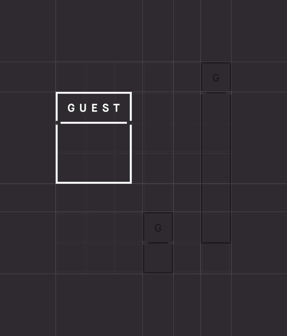 Character Guest Visual Identity System Guest Brand Identity Package