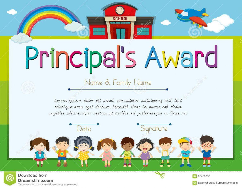 Get Our Printable Principal 039 S Award Certificate Template Certificate Templates Awards Certificates Template Award Certificate Certificate of authenticity sports memorabilia template