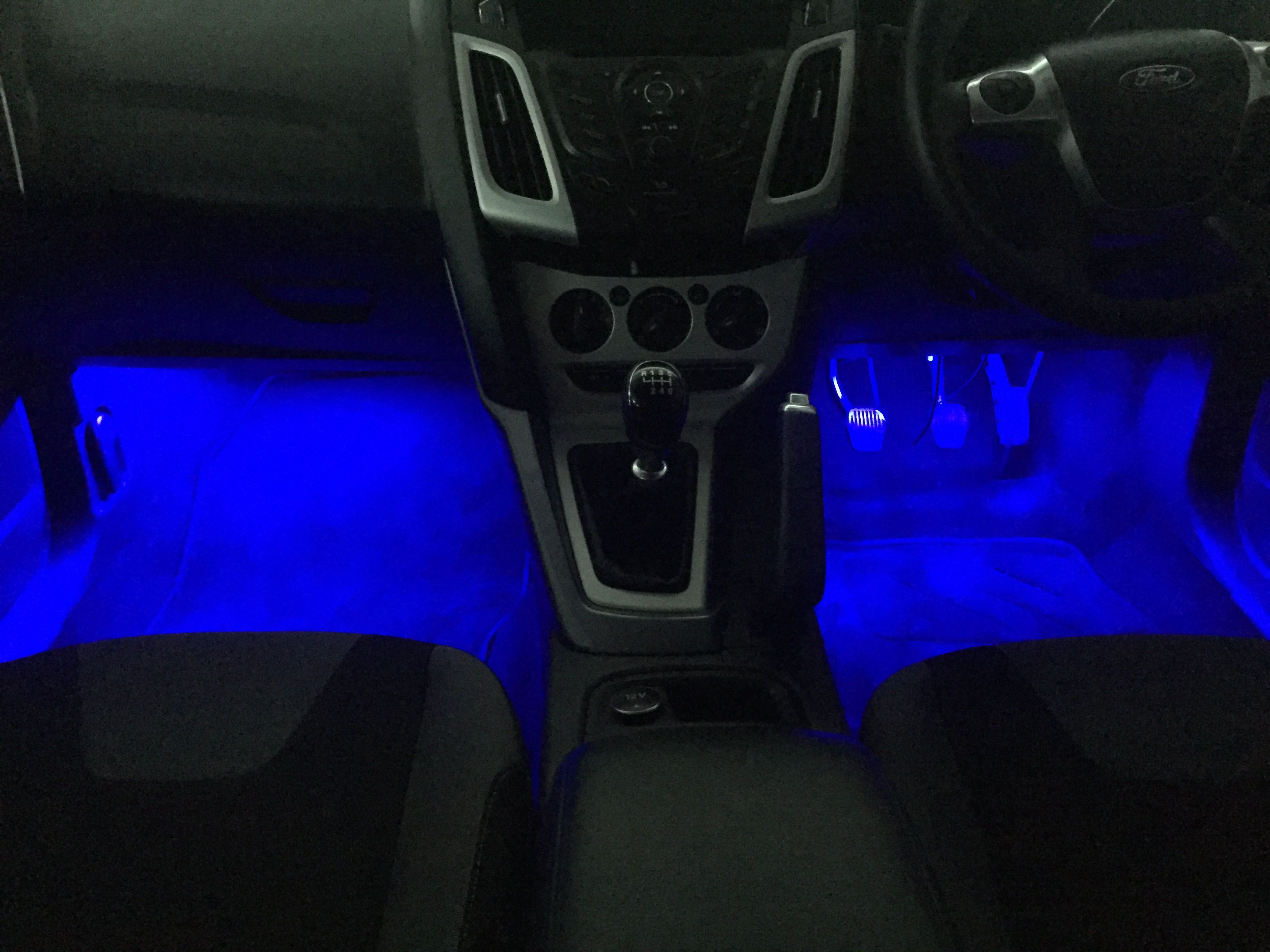 2012 Ford Focus Just In For Footwell Lights Installed On A Manual