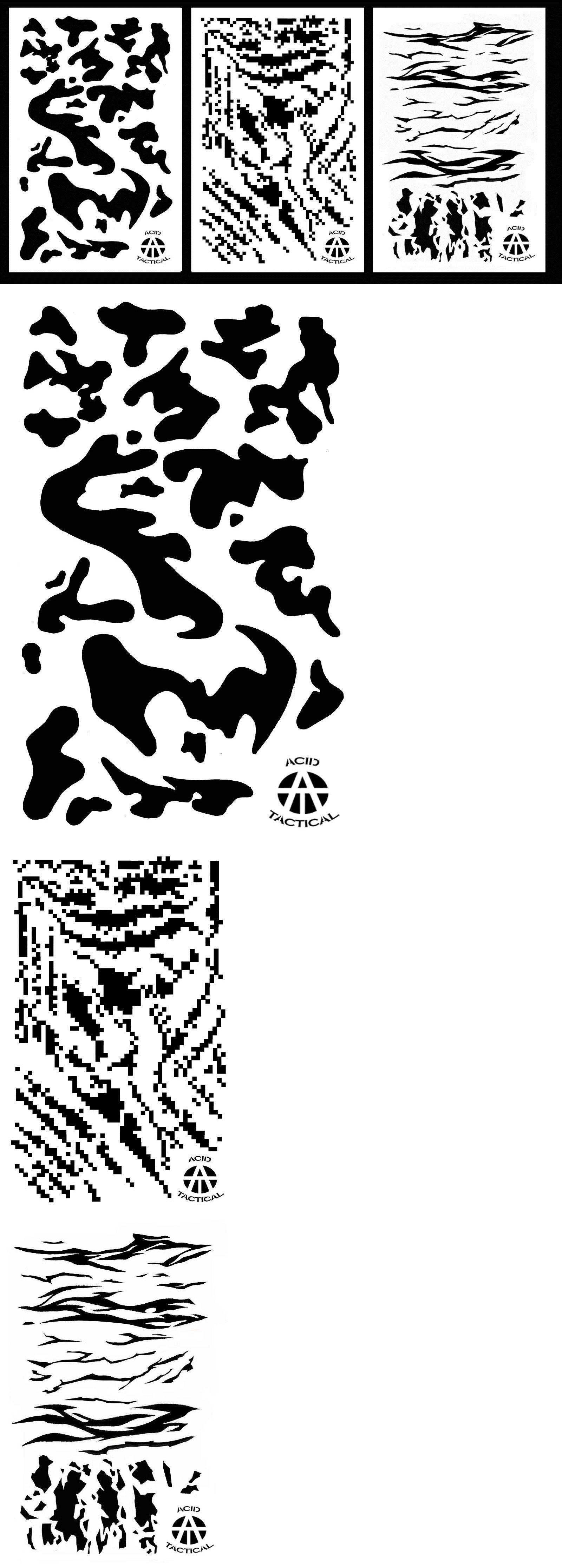 Camouflage Materials 177911: 3Pack! Vinyl Airbrush Spray