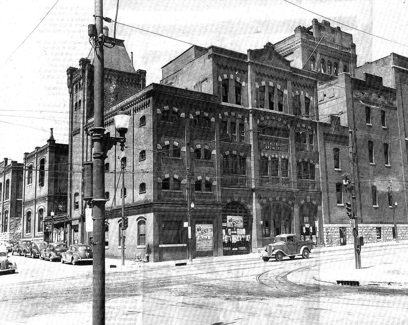 The Muehlebach Brewery Which Was At 18th And Main Streets