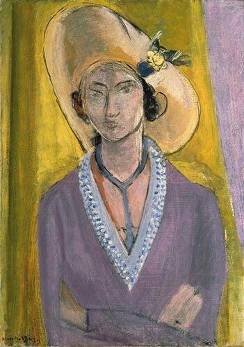Matisse Donna con cappello