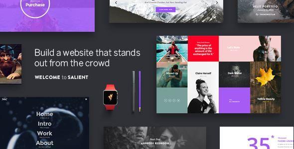Themeforest Salient Responsive Multi Purpose Theme Free Download
