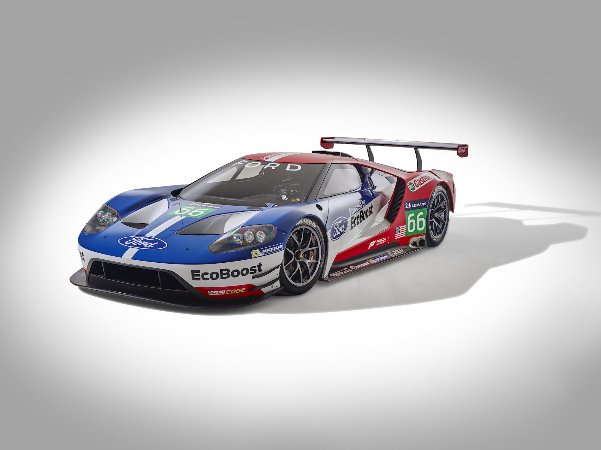 Ford Gt Returns To The 24 Hours Of Le Mans After Fifty Years Video Motoringview Ford Gt Ford Gt Le Mans Ford Racing