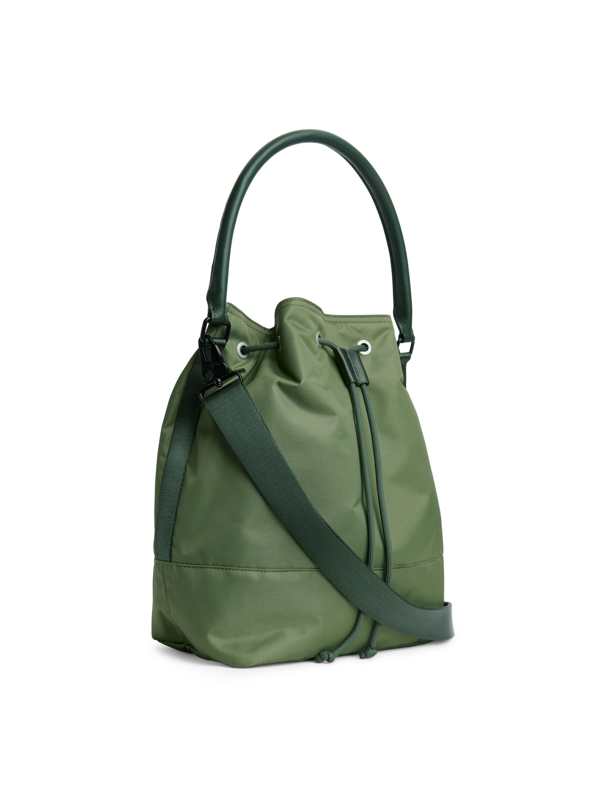 Nylon Bucket Bag - Khaki Green - Bags   accessories - ARKET SE ... 70df692b73ca5