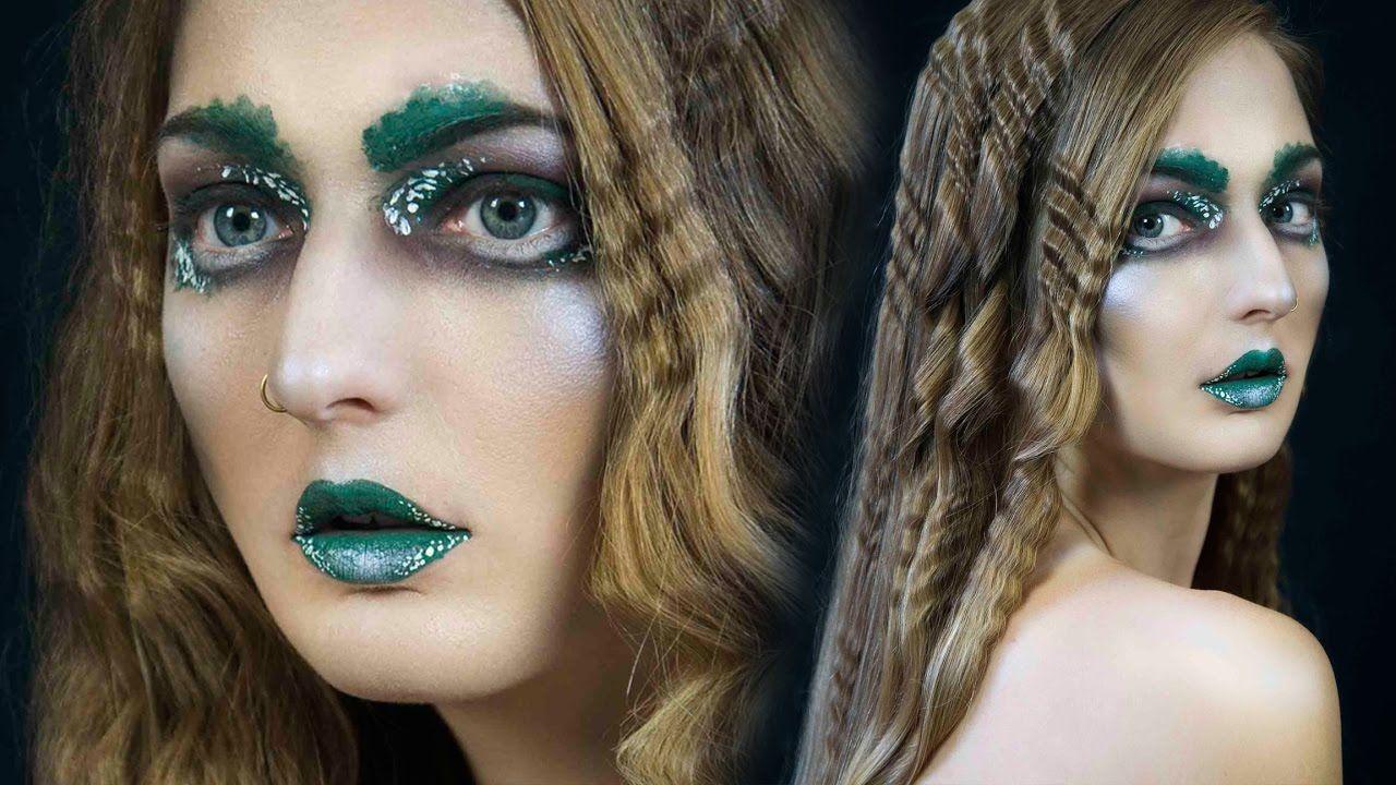 Avant Garde Makeup + Hair Goth makeup tutorial, Avant