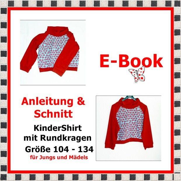E-Book - KinderShirt, Größe 104-134 - StoffAkzente Taschen und Accessoires