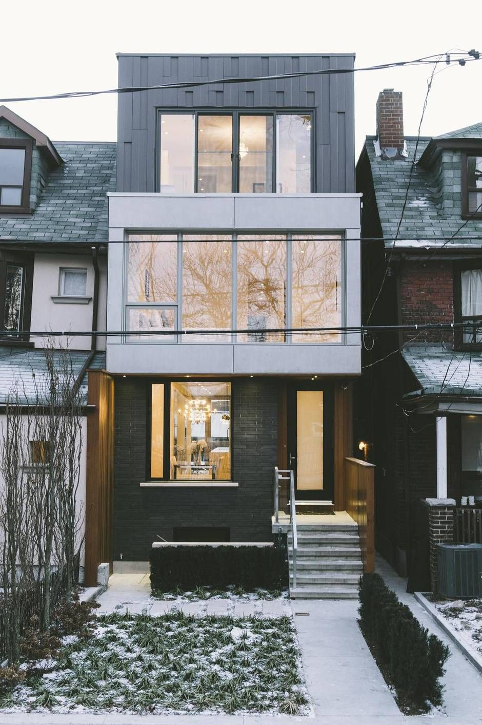 Here S A New Take On The Typical Toronto House Toronto