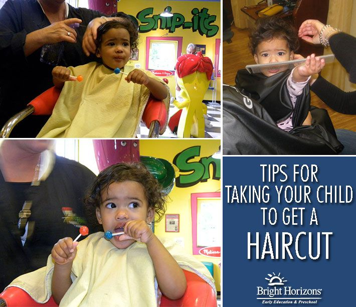 Tips For Taking Your Child To Get A Haircut Pinterest Haircuts