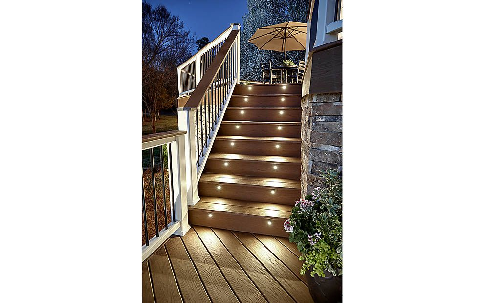 Best Trex Deck Featuring Trex Enhance Decking In Saddle And 400 x 300