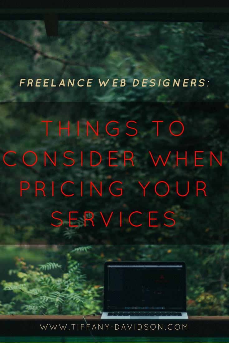Freelance Web Designers Things To Consider When Quoting A Website Freelance Web Design Web Design Squarespace Web Design