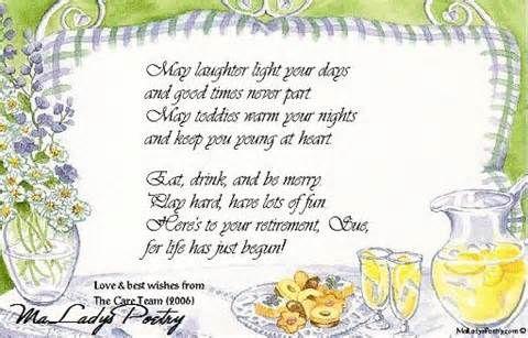 Humorous Retirement Poems | ... Funny Goodbye Poems ...