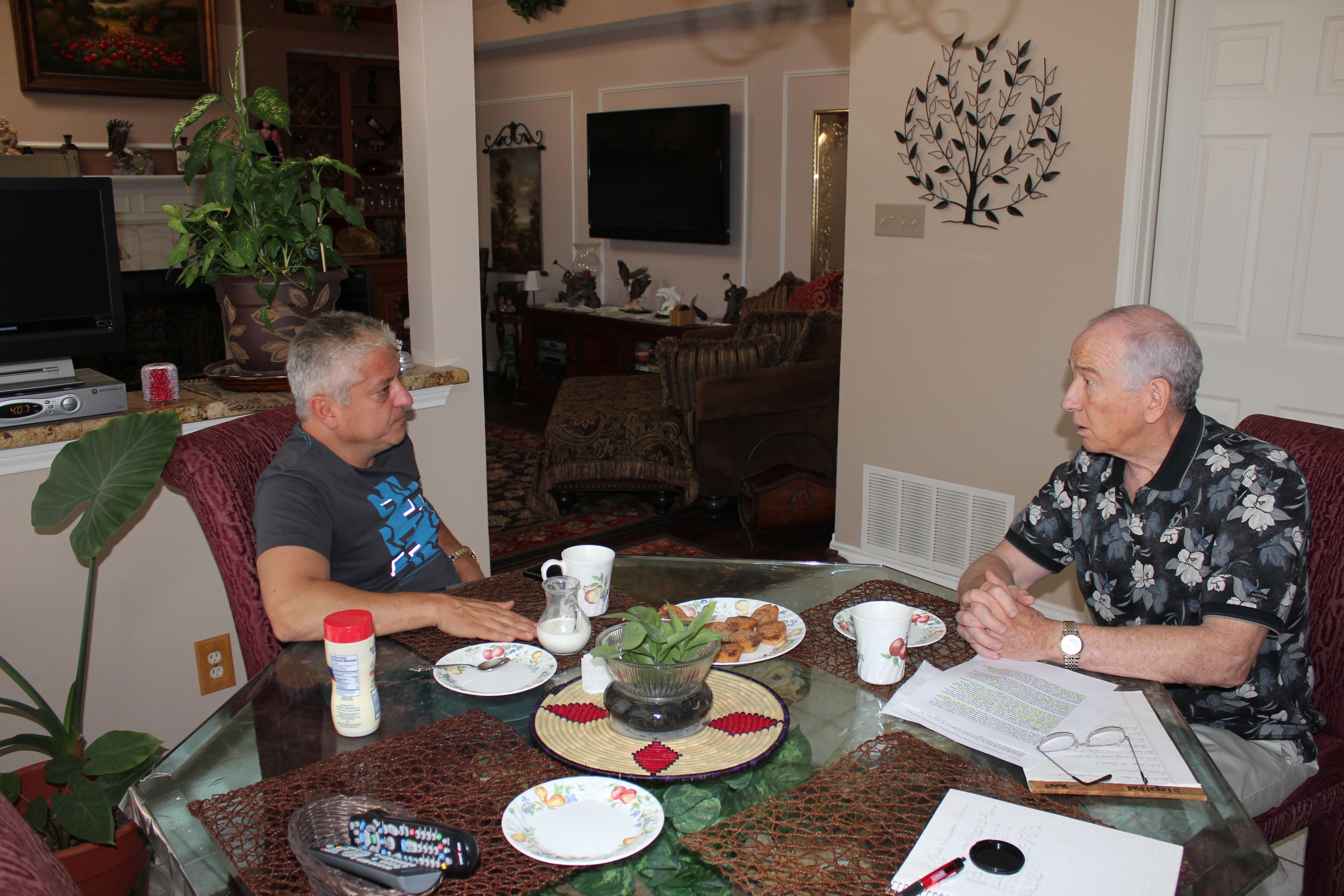 My wife Annette and I had the pleasure of having Mehrdad Moayedi for coffee and cake at our home in July 2013. During the 2-hour casual chat we became more convinced than ever that the Town Council made a wise choice when they selected Mr. Moayedi to handle the River Walk project.
