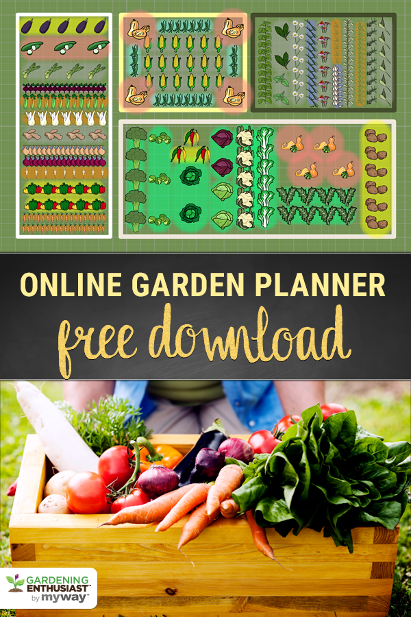 Plan Your Veggie Garden With Free Download Design Your Space To Grow A Healthy Beautiful Vegetable Garden Edible Garden Veggie Garden Garden Planner