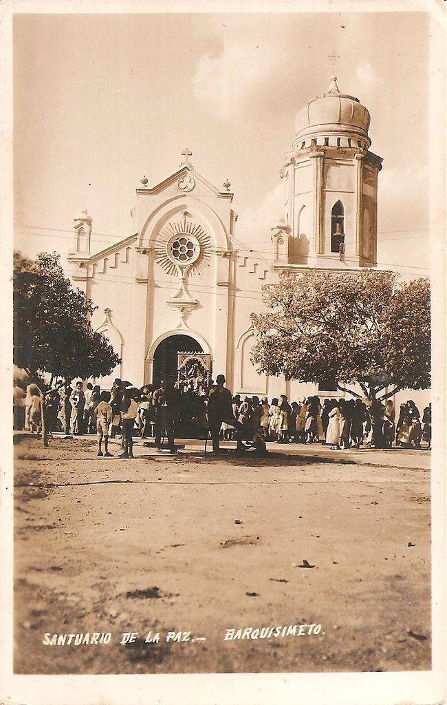 Postal Santuario De La Paz Barquisimeto Venezuela Lara State