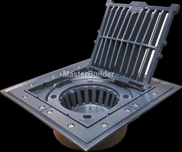 Zurn Z535 Heavy Duty Aluminum Parking Structure Drain Conforms To Csa S413m Floor Drains Drains Epoxy Floor
