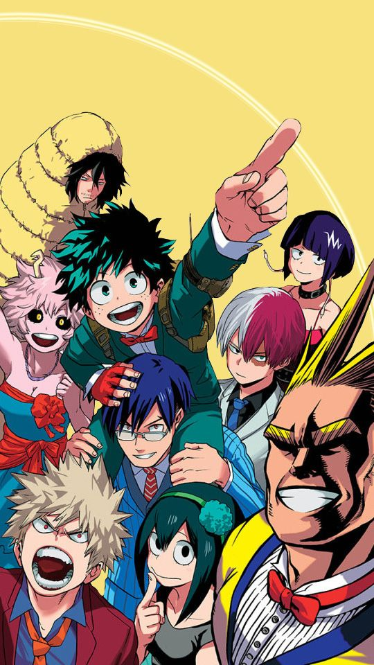 Boku No Hero Academia Random Mobile Wallpapers 540x960 Boku