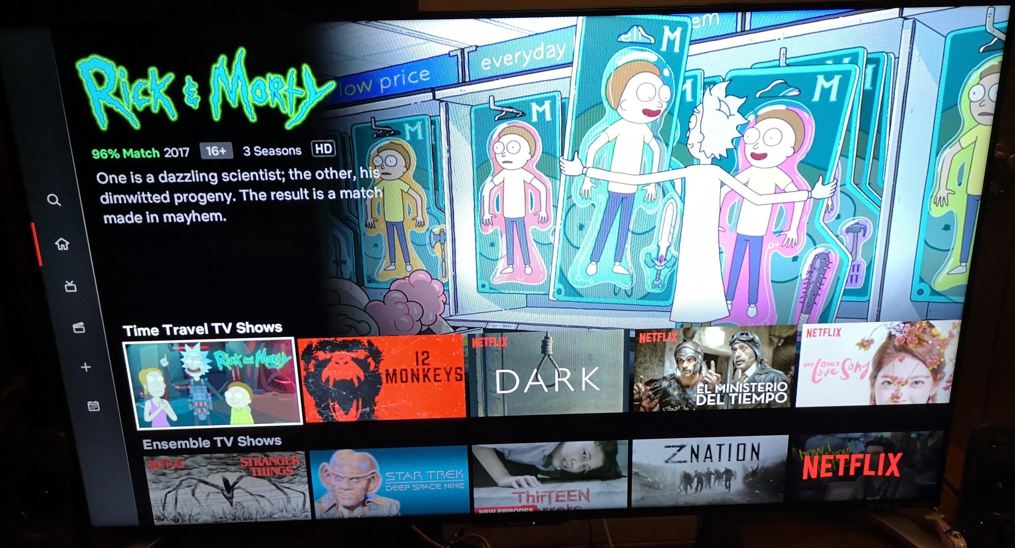 Netflix Has Categorize Rick Morty Under Time Travel Tv Shows P Rickandmorty Rick Picklerick Morty Wubbal Time Travel Tv Shows Rick And Morty Morty