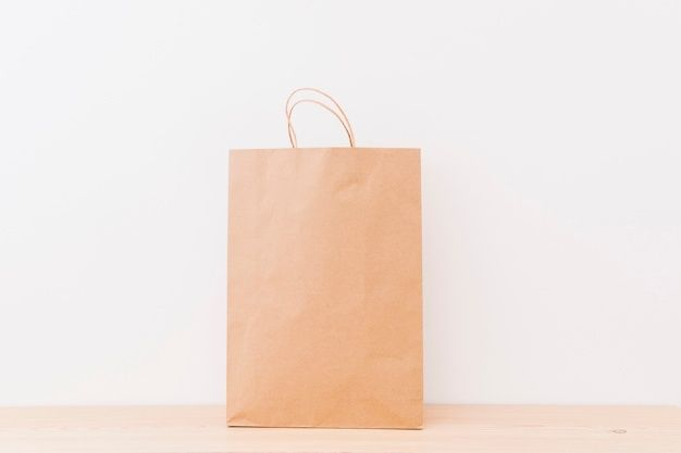 Download Download Brown Shopping Bag On Wooden Surface For Free Wooden Free Photos Photo Editing Software