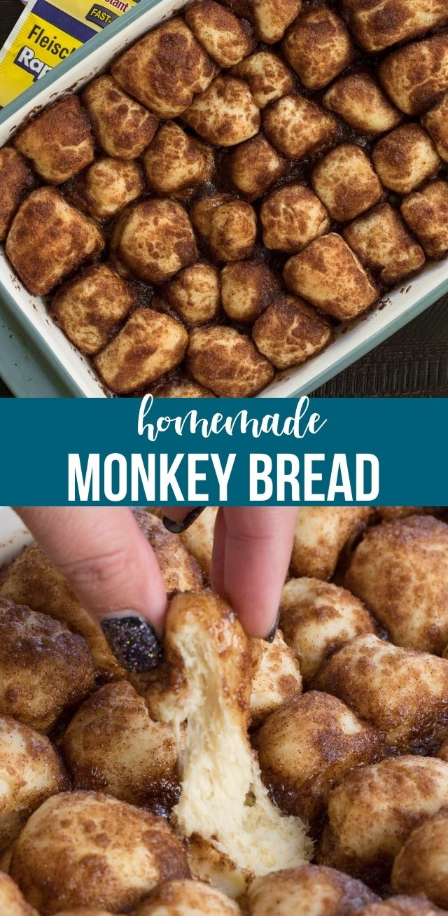 Homemade Monkey Bread - Crazy for Crust