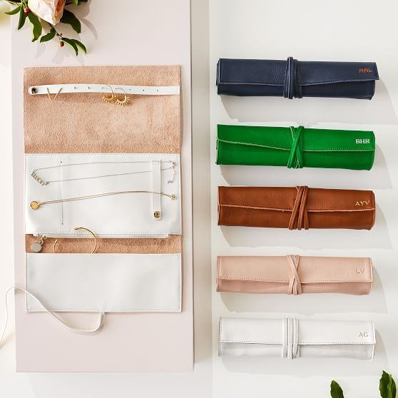 Photo of Leather Jewelry Roll Up