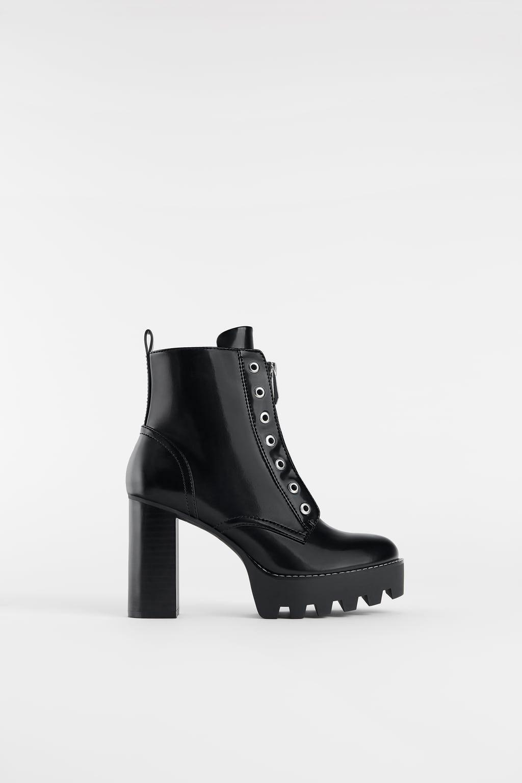 bfbc47a4 BOTÍN TRACK | zapatos ❤ in 2019 | Zapatos, Zapatos botines, Botines ...