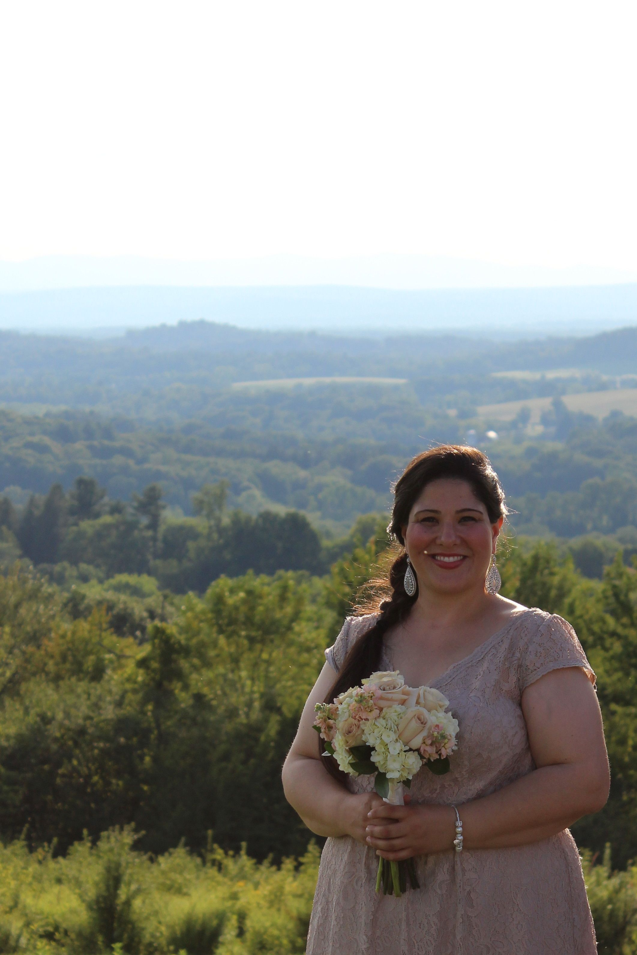 Little Brook Farm makes the perfect venue for a wedding. The natural background is stunning!