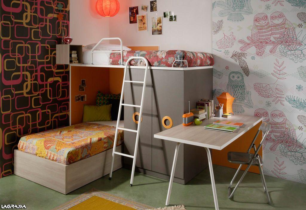 Cat logo aire avatar 14 dormitorio juvenil con una for Catalogos habitaciones juveniles precios