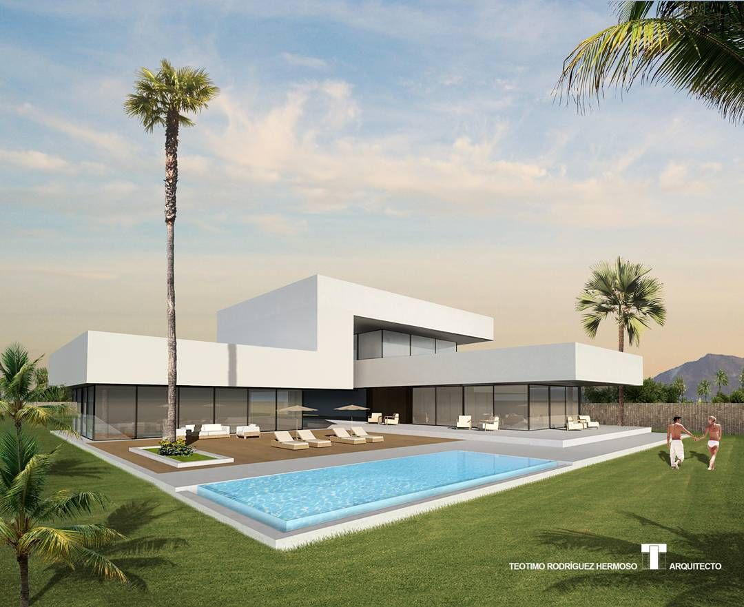 "Villa Blanca. Serie ""L"". Concept 6 (2011). Teotimo Architect (Tenerife-Canary Islands-Spain). #arquitectura #projects #luxuryvillas #luxuryrealestate #teneriferealestate #tenerife #canaryislands #inmobiliaria #hotel #resort #spa #home #instagram #archilovers #luxuryhomes #architecture #architecturestudent #architectureproject #luxuryarchitecture #design #modernarchitecture #myinterior #render #arquidecor #archidesignhome #interiordesign #arquitecto #minimal #teotimoarchitect by arthectonica"