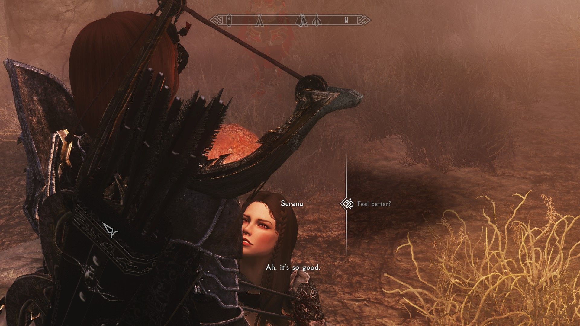 Serana stuck in sneak while doing Amorous Adventures #games