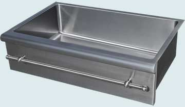 Custom Stainless Kitchen Sinks 4815 Handcrafted Metal Inc