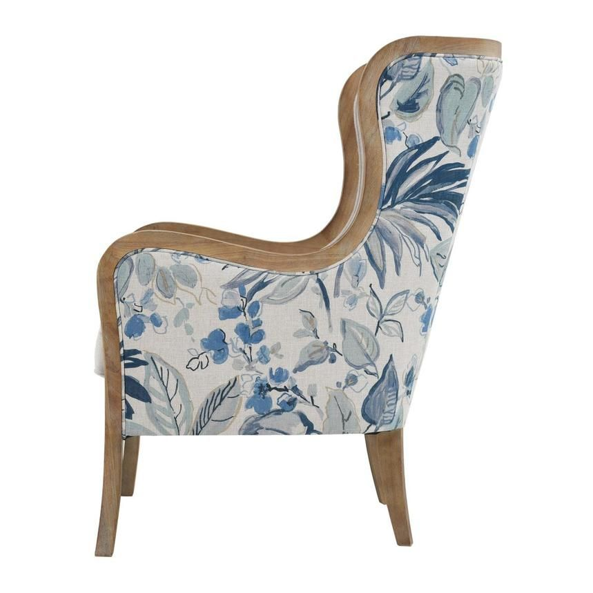 Scarlett Blue Accent Chair Blue Accent Chairs