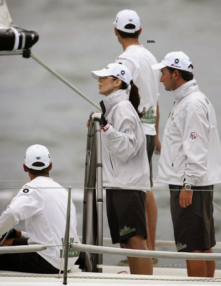 February 2005 yacht race in Sydney