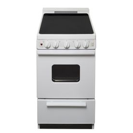 Premier Smooth Surface Freestanding 2 4 Cu Ft Electric Range White On Freestanding Electric Ranges Electric Range Free Standing