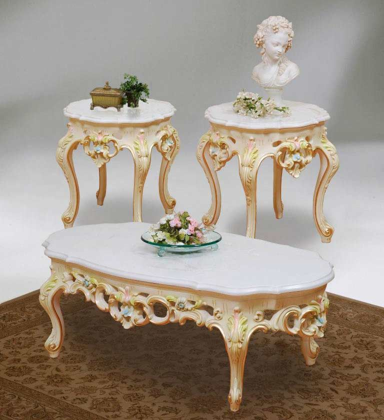Victorian Coffee Table Furniture: Victorian Style Coffee And End Tables