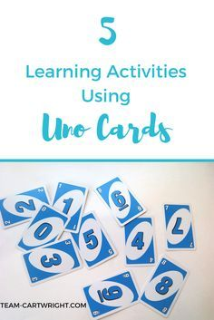 Photo of 5 Learning Activities Using Uno Cards – Team Cartwright