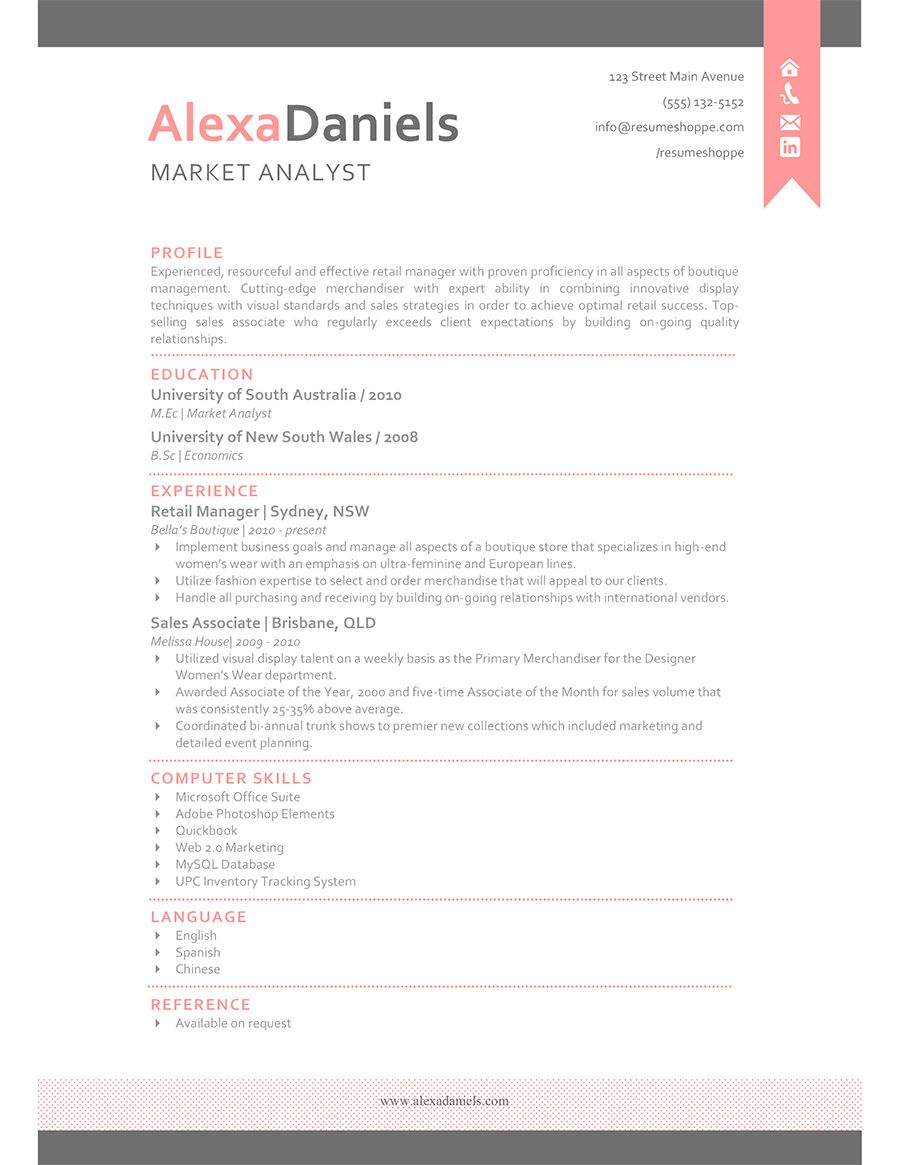the alexa resume a word editable template in a