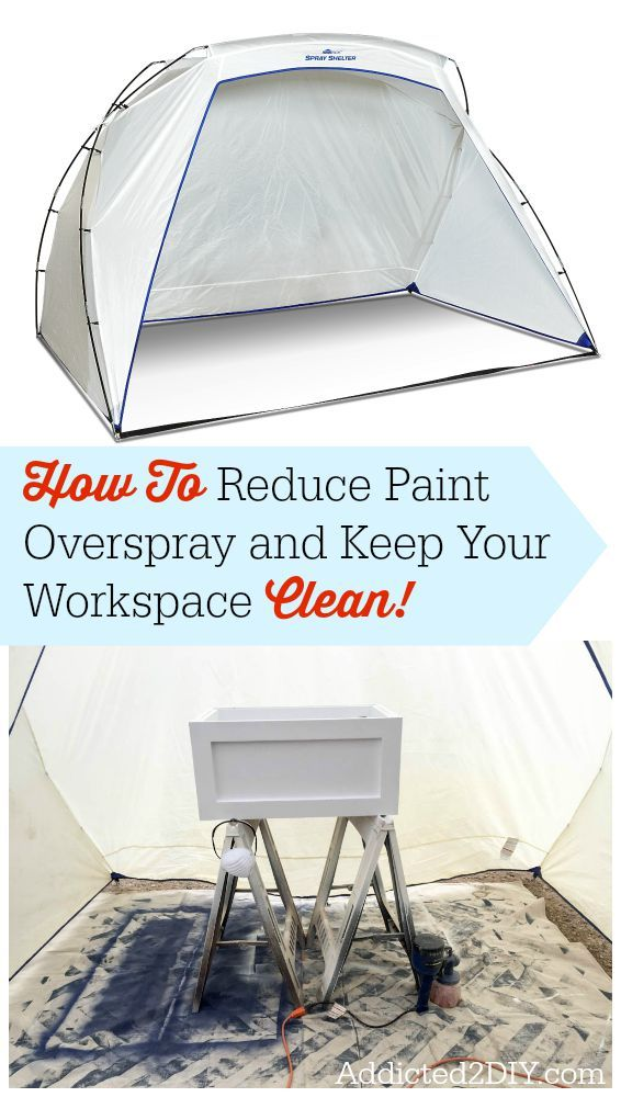 How To Reduce Paint Overspray And Keep Your Workspace Clean Diy