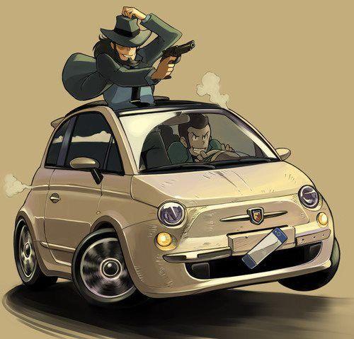 Gunze Sangyo 1/24 Fiat 500 'Lupin III & Fiat', previewed by Scott ...