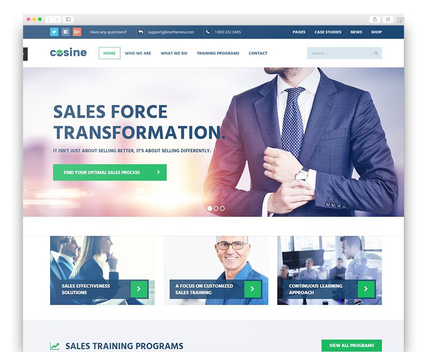 Cosine training coaching business wordpress theme best cosine training coaching business wordpress theme accmission Choice Image