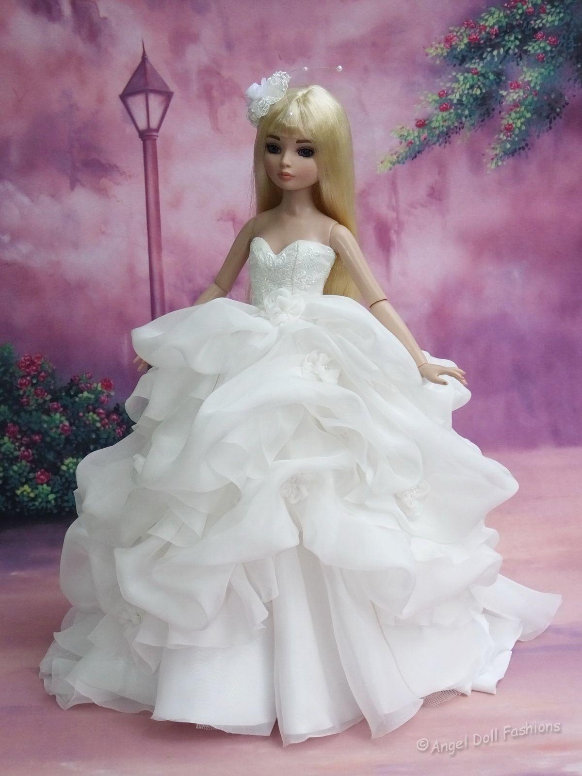"""Wedding gown for Ellowyne 16""""Tonner doll"""