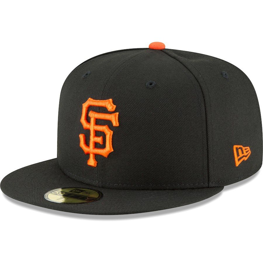 755bb4a1 Men's San Francisco Giants New Era Black Team Local 59FIFTY Fitted Hat,  Your Price: $36.99