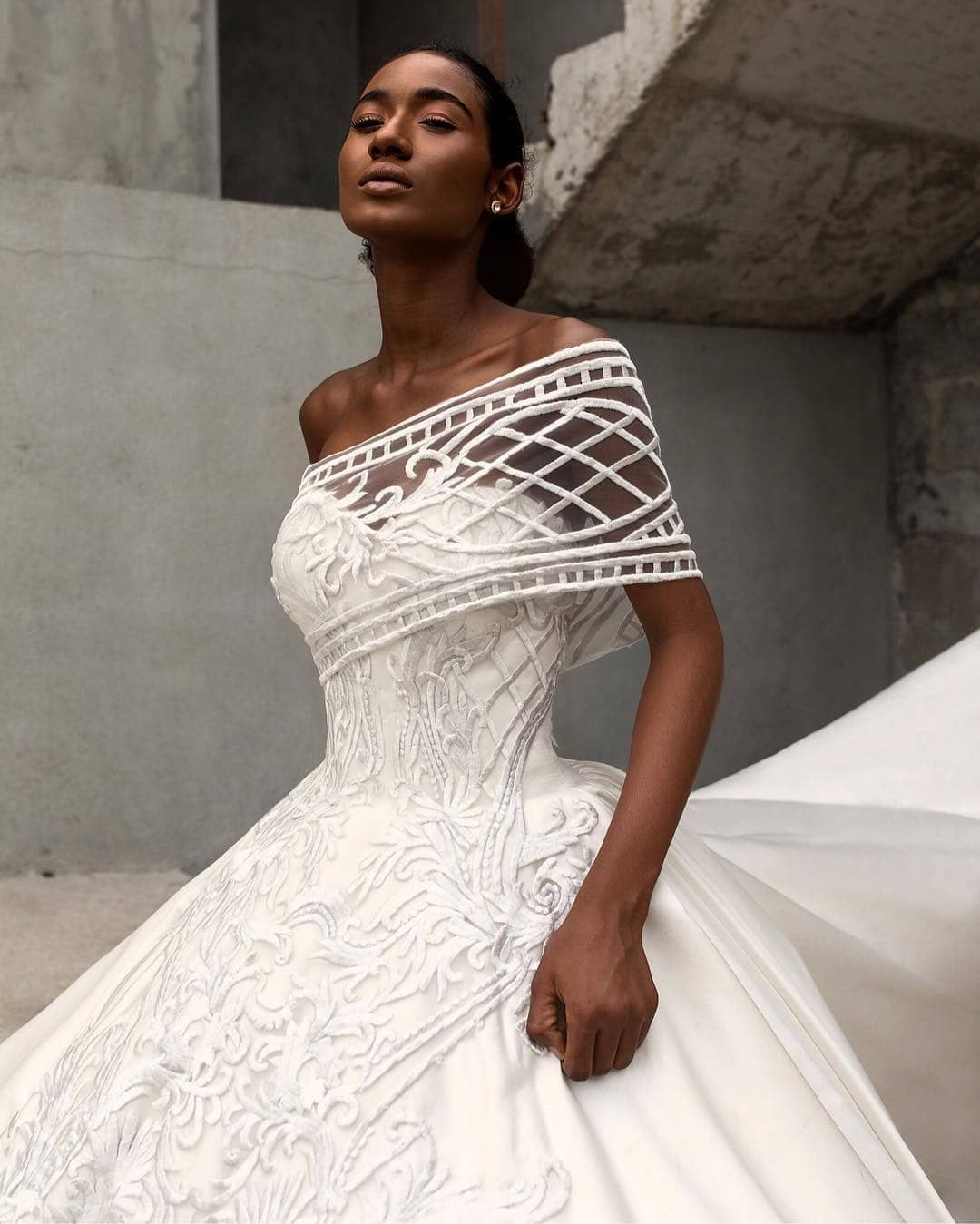 Andrea Iyamah. Follow us @ SIGNATURE BRIDE on Instagram and