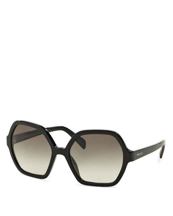 b1bff42775 Prada Oversized Octagon Sunglasses