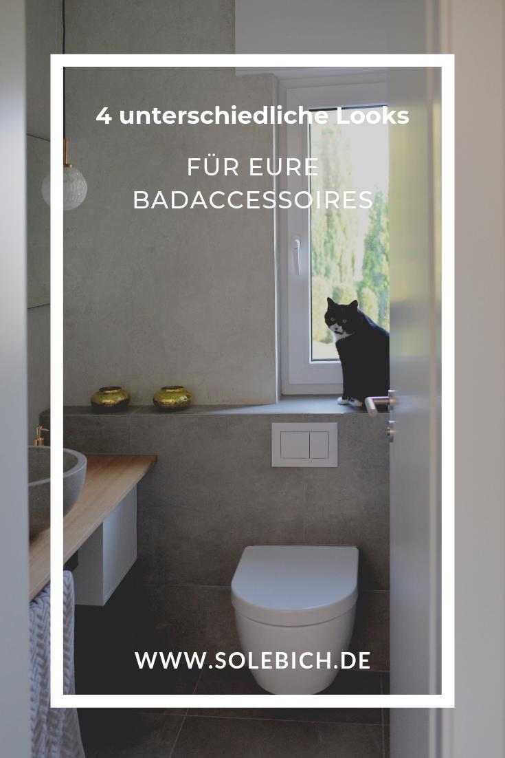 4 Unterschiedliche Looks Fur Eure Badaccessoires Badaccessoires Badezimmer Accessoires Bad