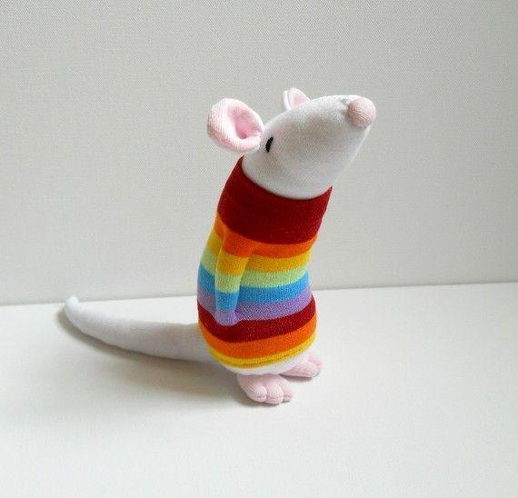 DIY de muñecos de animales realizados con calcetín | ideas ...