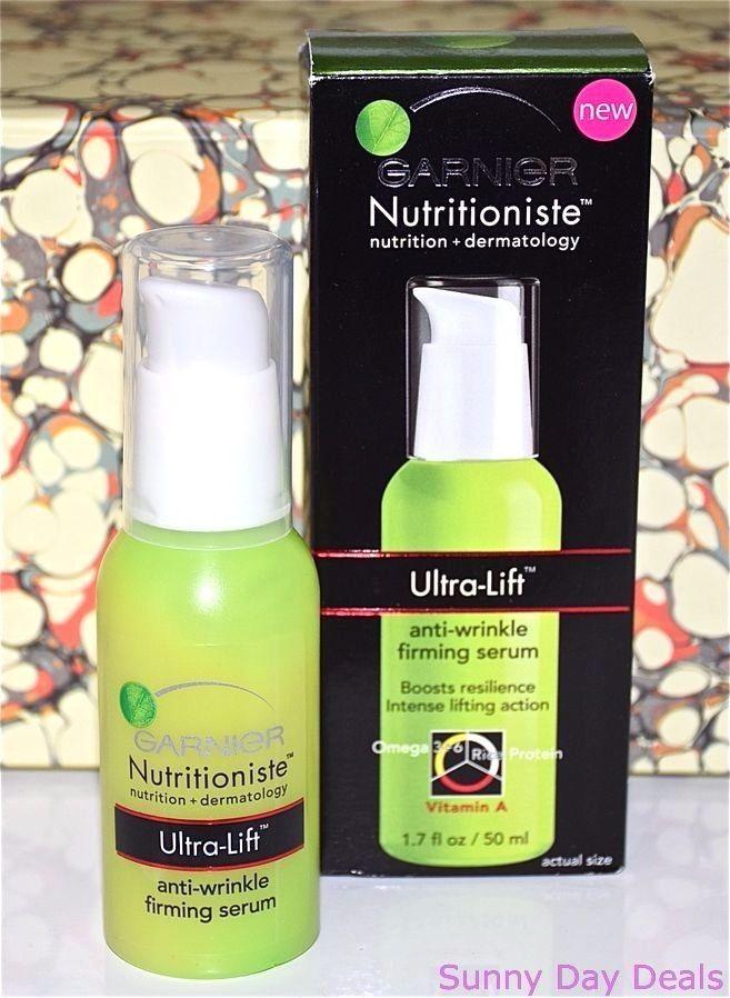 Garnier Ultra-Lift Anti-Wrinkle Firming Serum Nutritioniste Skincare Face 1.7 oz #Garnier