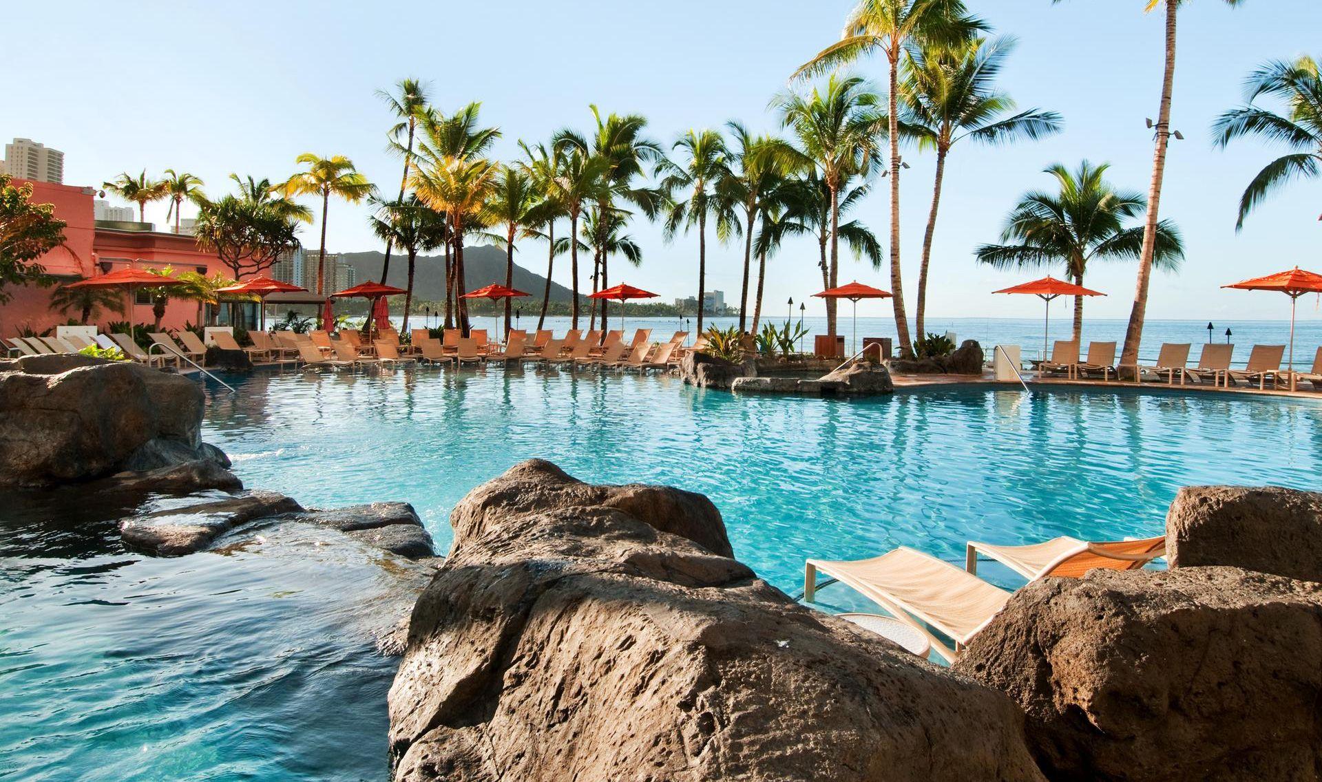 Waikiki Beach Hotels Sheraton Waikiki Hotel Honolulu