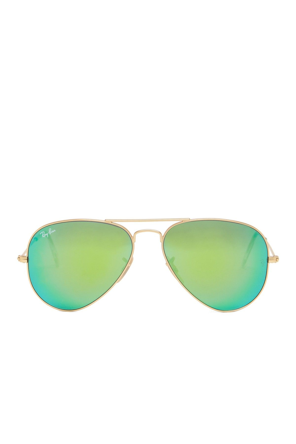 6fcbb6274 Ray-Ban aviators #green | Must haves | Ray ban sunglasses, Mirrored ...